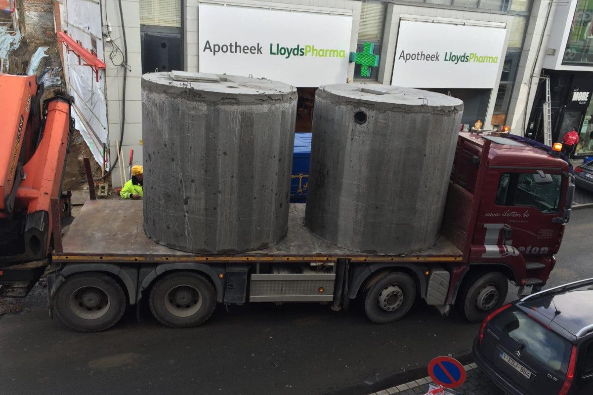 septische put beton prijs